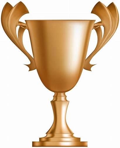 Trophy Cup Bronze Clipart Clip Award Transparent
