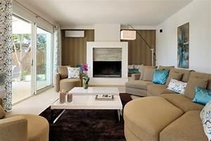 nouvelle decoration et ambiance pour ce salon With decoration de salle de sejour