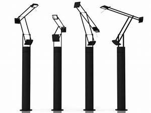 tizio floor lamp 3d model artemide With tizio lamp floor stand