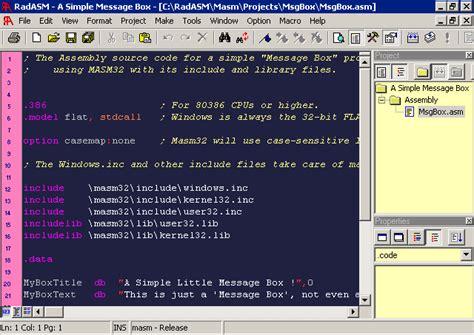 bit assembly  windows  masm