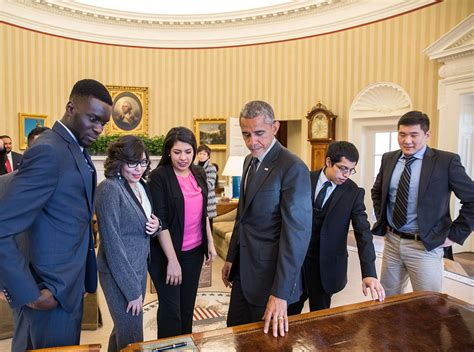 obama in the office meet the 6 dreamers the president met with in the oval