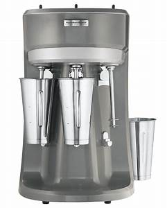 Triple-spindle Drink Mixer