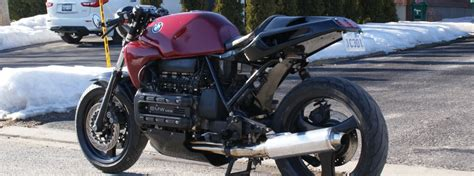 Creating A Cafe Racer Out Of A 1985 Bmw K100