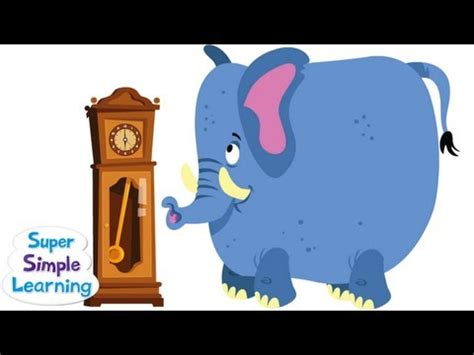 Hickory Dickory Dock From Super Simple Songs Lessonpaths