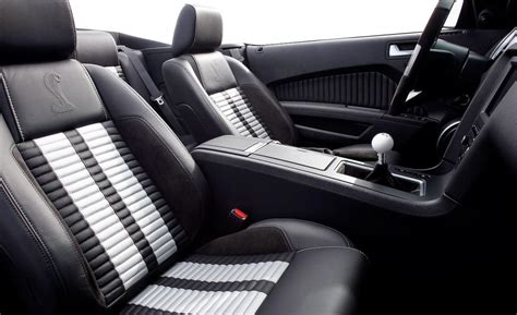 2018 Ford Mustang Shelby Gt500 Convertible Interior Photo