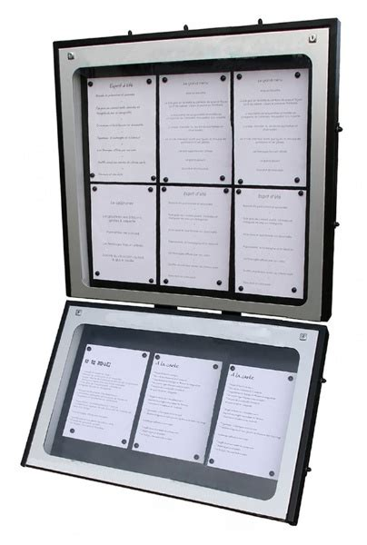 porte menu lumineux exterieur porte menu lumineux mural jupmaq004