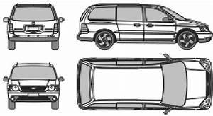 13 Minivan Drawing Ford Windstar For Free Download On