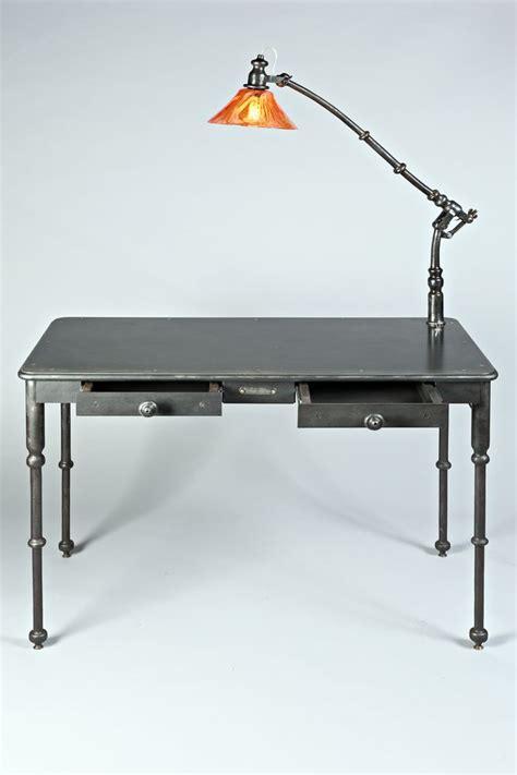bureau acier olivier le clerc mobilier luminaire bureau acier verre