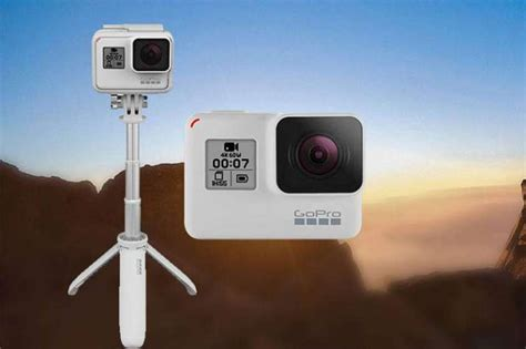 gopro hero black limited edition dusk white launched