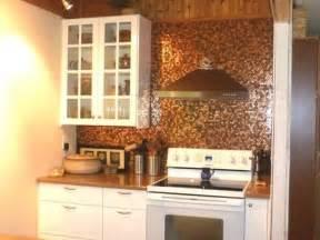 kitchen wall backsplash 27 trendy and chic copper kitchen backsplashes digsdigs