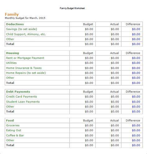 sle home budget worksheet homemade ftempo