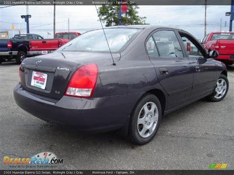 Hyundai Elantra Gls 2003 by 2003 Hyundai Elantra Gls Sedan Midnight Gray Gray Photo