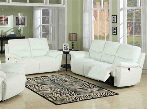 white living room set white leather living room set