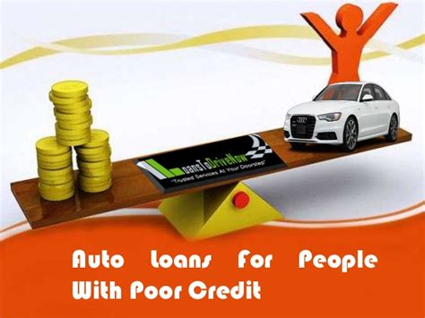 Qualifying For Car Loans For People With Poor Credit Is