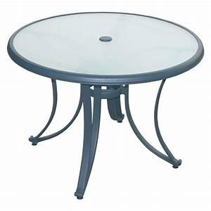 Table De Jardin Ronde : best table de jardin ronde avec trou pour parasol ideas awesome interior home satellite ~ Teatrodelosmanantiales.com Idées de Décoration