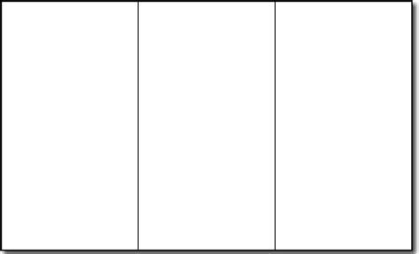 8 Blank Brochures Sle Templates Free Printable Brochure Template Vastuuonminun