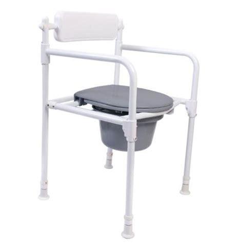 chaise percée pliante handicat