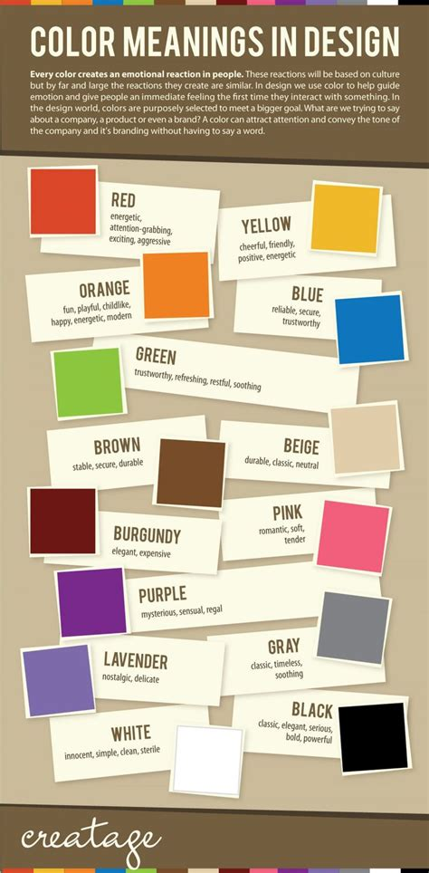 color meanings in design be careful what color you use in