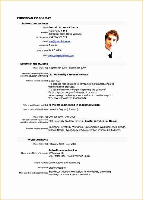 resume format sample  samples examples
