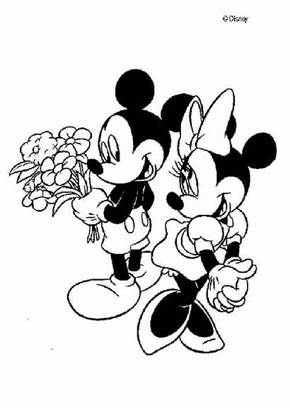 Coloring Mouse Mickey Pages Minnie Popular