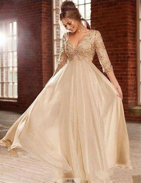 H007 Champagne Wedding Dresses Long 2016 Plus Size Vintage