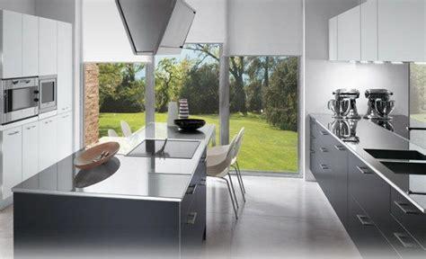 modele cuisine avec ilot modele de cuisine avec ilot central deco maison moderne
