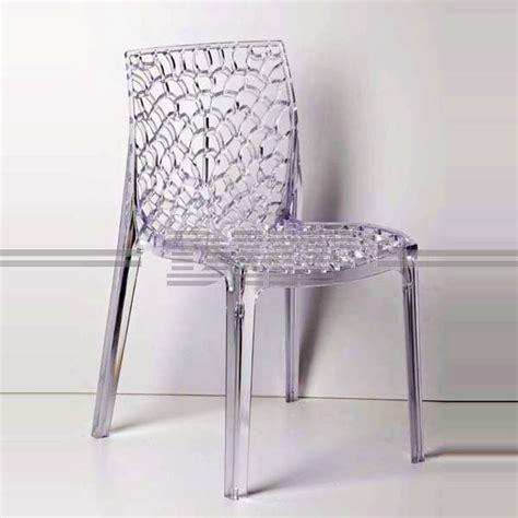 chaise de couleur en plastique chaise de salle a manger en plastique