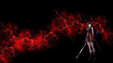 red  black anime wallpaper  images