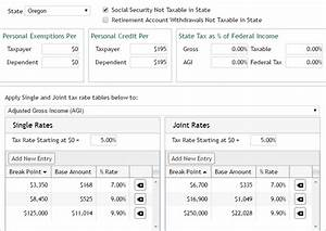 2017 State Income Taxes