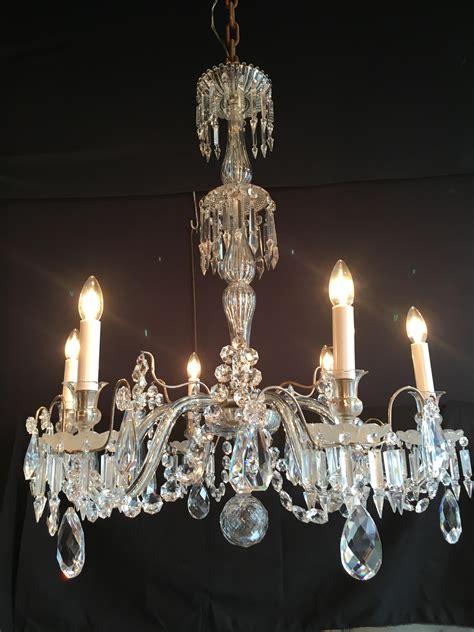 lustre de cristal baccarat lustre en cristal de baccarat paul bert serpette