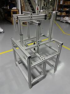 Machine Frames Made From T