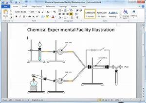 Chemistry Experiment Diagram Templates For Word