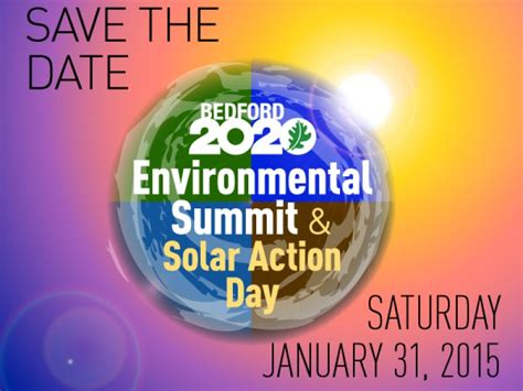 bedford environmental summit solar action day bedford ny patch