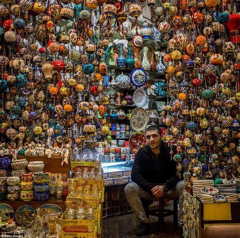 istambul turki inside istanbul 39 s grand bazaar in turkey which has 91m