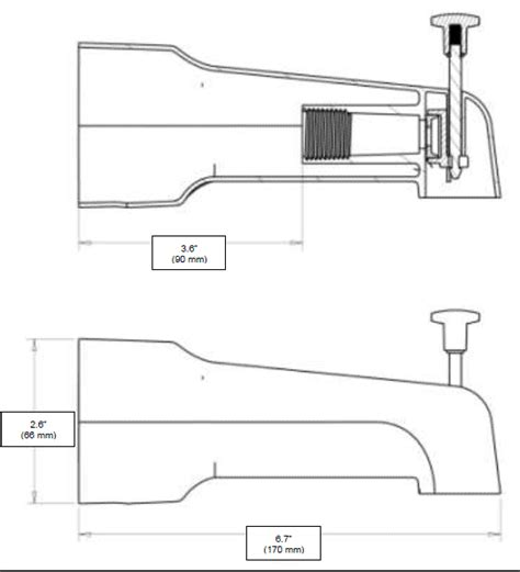 Delta Faucet Leaking From Spout by Bathtub Shower Spout 171 Bathroom Design