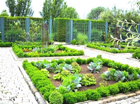 potager garden design ideas plans layout  tips