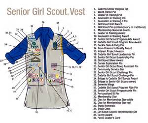 brownie vests senior ambassador scouts