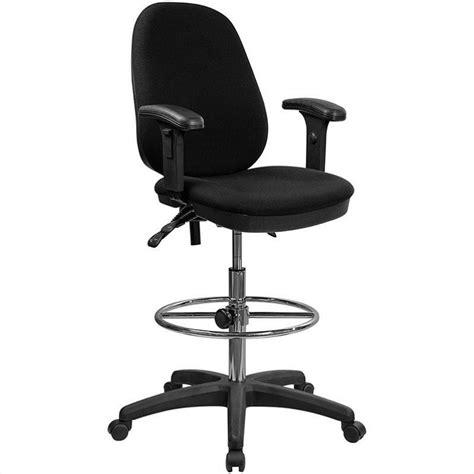 ergonomic drafting chair  adjustable foot ring kc