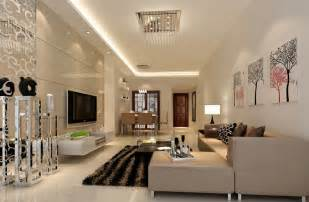 wohnzimmer einrichten 3d modern minimalist living dining room lighting rendering 3d house