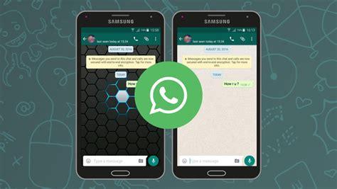 Cara Mengganti Tampilan Background Chat Whatsapp Dengan