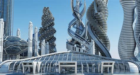 Futuristic Skyscrapers - WireCASE