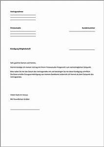 Wohnung Kündigen Per Email : k ndigung fitnessstudio vorlage text word pdf ~ Lizthompson.info Haus und Dekorationen
