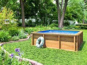 Hors Sol Pas Cher Piscine : petite piscine en bois pas cher ~ Melissatoandfro.com Idées de Décoration