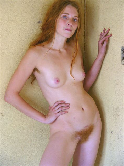 Totally Natural Redhead With Amazingly Blue Eyes Hairy Pussy Luscious