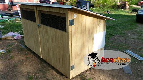 Backyard Chicken Coop Wood