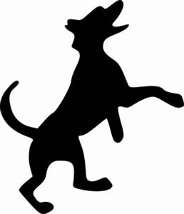 Dog Silhouette Clip Art at Clker.com - vector clip art ...