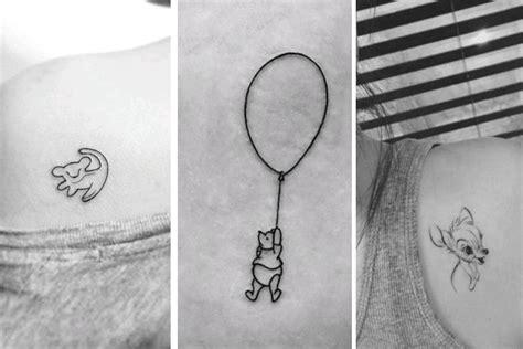 die  schoensten disney tattoos