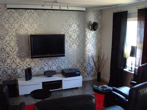Tapeten Design Ideen Wohnzimmer by Basement Living Room Wallpaper Ideas 2019 Ideas