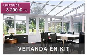 Prix Veranda En Kit : vranda en kit pergola aluminium et carport sur mesure ~ Premium-room.com Idées de Décoration