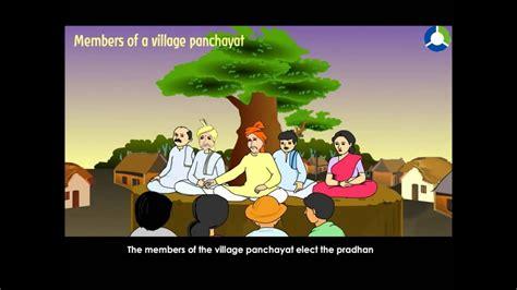 village panchayat cbse grade  evs youtube